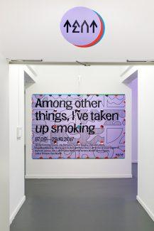 Among other things, i've taken up smoking - photo: Aad Hoogendoorn